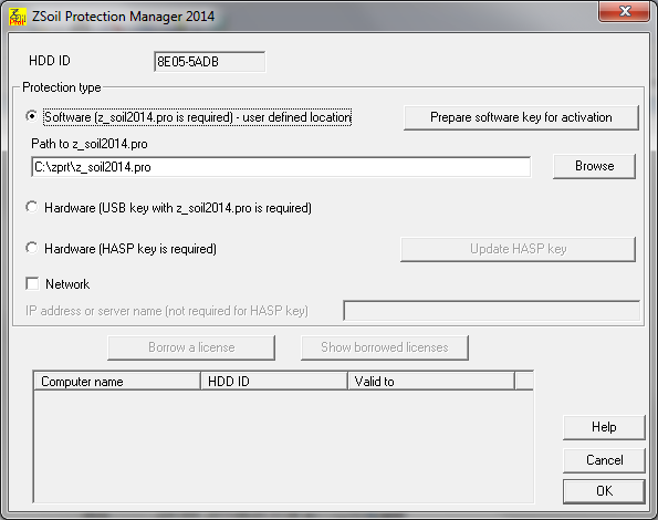 How to activate software key? – Zace Services Ltd, ZSoil PC
