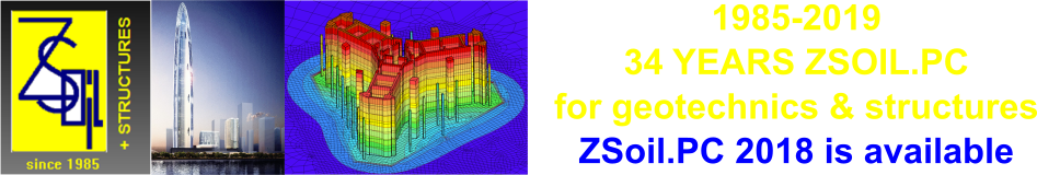 Zace Services Ltd, ZSoil.PC - software for geotechnics and geomechanics